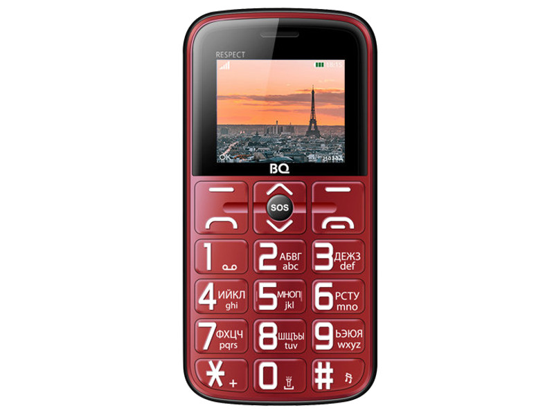 Сотовый телефон BQ BQ-1851 Respect Red