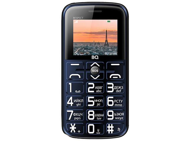 Сотовый телефон BQ BQ-1851 Respect Blue
