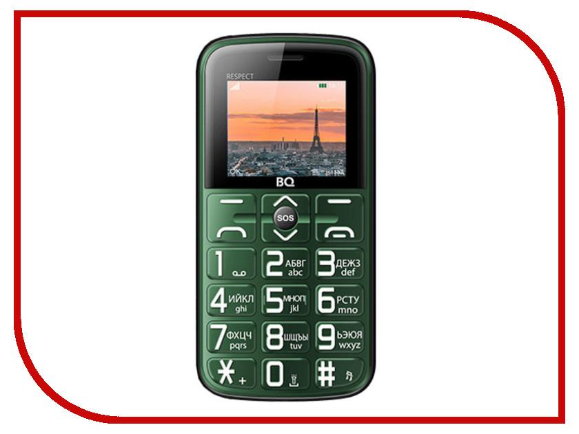 Сотовый телефон BQ BQ-1851 Respect Green сотовый телефон senseit t100 black