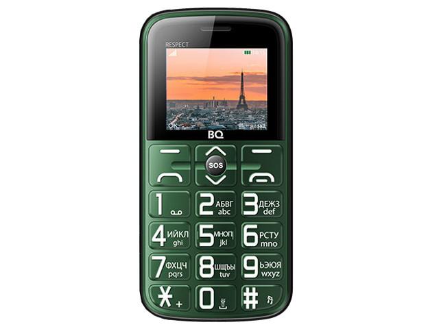Сотовый телефон BQ BQ-1851 Respect Green