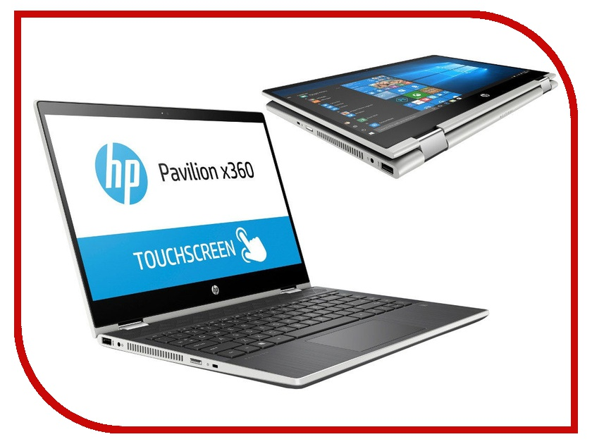 Ноутбук HP Pavilion x360 14-cd0003ur Silver 4GZ82EA (Intel Core i3-8130U 2.2 GHz/4096Mb/1000Gb/Intel HD Graphics/Wi-Fi/Bluetooth/Cam/14.0/1920x1080/Windows 10 Home 64-bit) sheli laptop motherboard for hp pavilion dv6 6000 659998 001 hm65 6490 1g non integrated graphics card