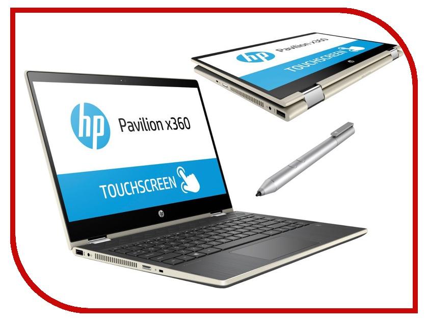 Ноутбук HP Pavilion x360 14-cd0015ur Gold 4HF51EA (Intel Core i5-8250U 1.6 GHz/12288Mb/1000Gb+128Gb SSD/nVidia GeForce MX130 4096Mb/Wi-Fi/Bluetooth/Cam/14.0/1920x1080/Windows 10 Home 64-bit) ноутбук hp pavilion 14 cd0012ur 4hd33ea pale gold intel core i5 8250u 1 6 ghz 8192mb 256gb ssd no odd nvidia geforce mx130 2048mb wi fi cam 14 0 1920x1080 touchscreen windows 10 64 bit