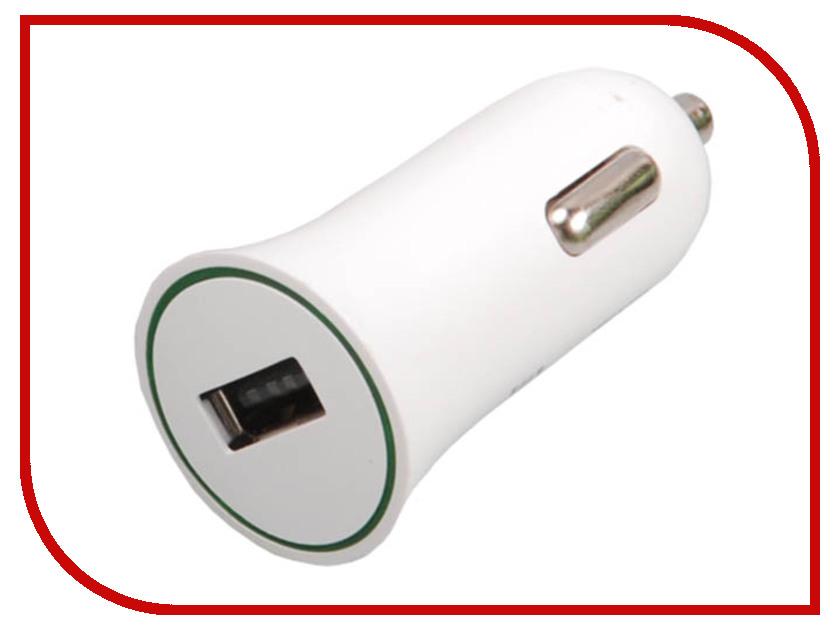 Зарядное устройство Ritmix RM-112DC White автомобильное зарядное устройство ritmix rm 112dc usb 1a черный