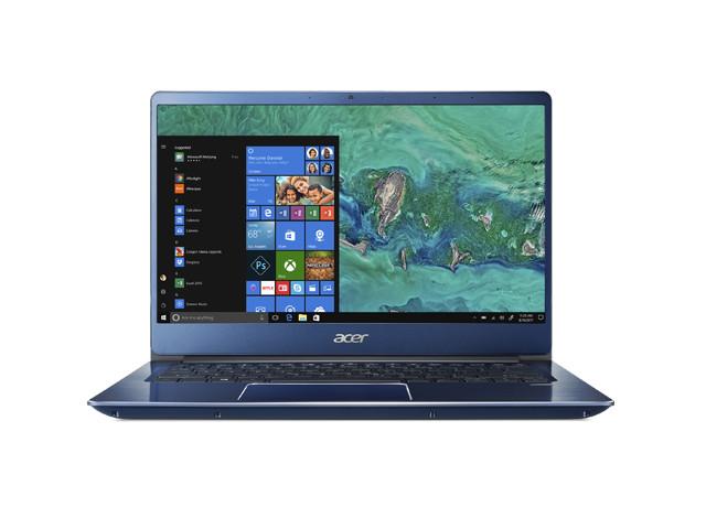 Ноутбук Acer Swift SF314-54G-84H2 NX.GYJER.001 Blue (Intel Core i7-8550U 1.8 GHz/8192Mb/512Gb SSD/No ODD/nVidia GeForce MX150 2048Mb/Wi-Fi/Cam/14.0/1920x1080/Windows 10 64-bit) цена и фото