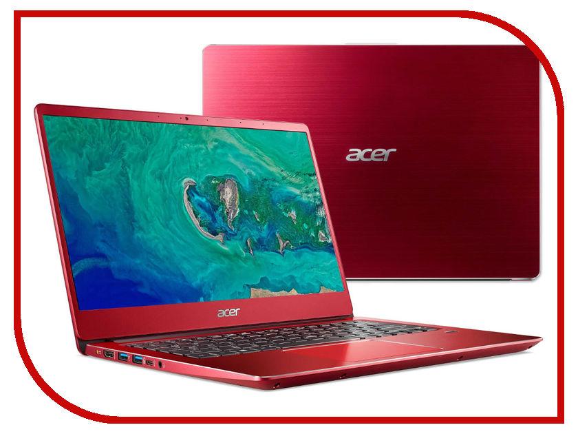 Ноутбук Acer Swift SF314-54-54YH NX.GZXER.003 Red (Intel Core i5-8250U 1.6 GHz/8192Mb/256Gb SSD/No ODD/Intel HD Graphics/Wi-Fi/Cam/14.0/1920x1080/Linux) цена и фото
