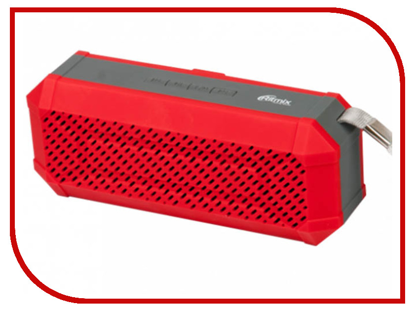 Колонка Ritmix SP-260B Red