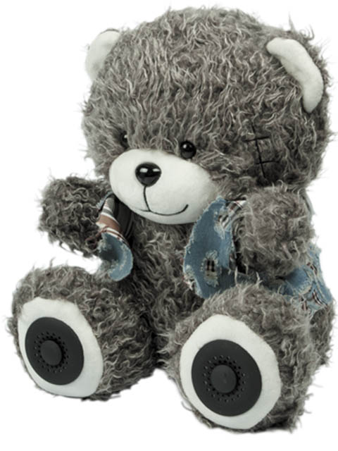 Колонка Ritmix ST-250 Bear BT Grey
