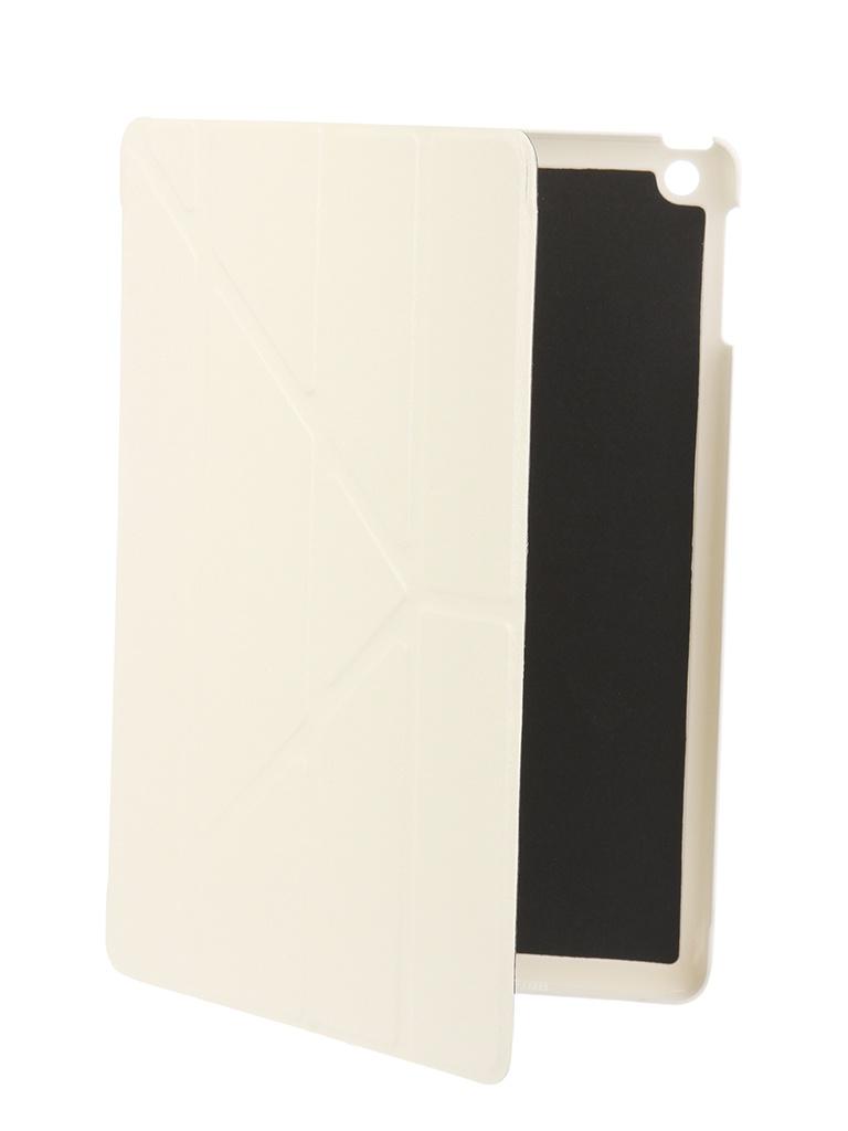 Аксессуар Чехол Gurdini для APPLE iPad Air / iPad New 2017-2018 White 520009 аксессуар чехол для apple ipad air ipad new 2017 2018 gurdini eco кожа pink 520018