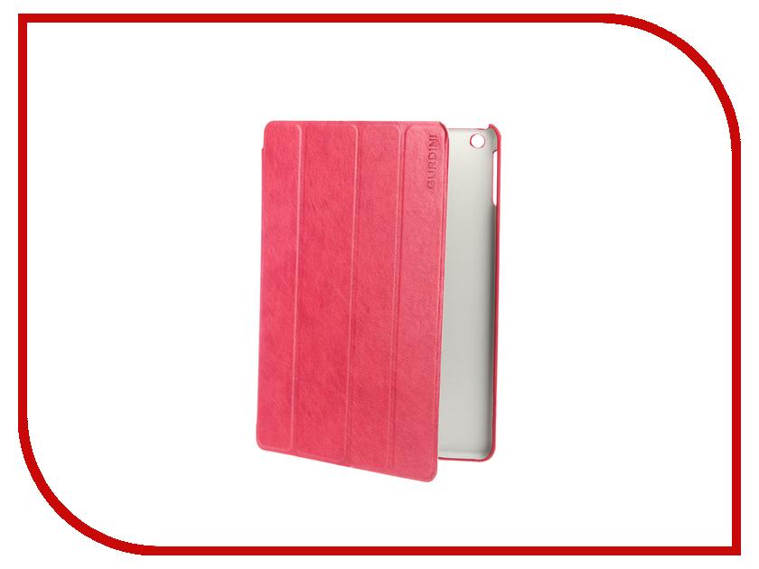 Аксессуар Чехол Gurdini Classic Series для APPLE iPad Air / iPad New 2017-2018 9.7 Crimson 520037 цена и фото