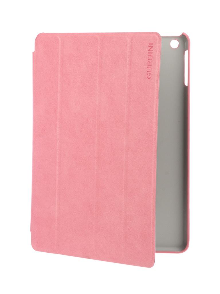 Аксессуар Чехол Gurdini для APPLE iPad Air / iPad New 2017-2018 9.7 Classic Series Pink 520036 аксессуар чехол melkco для apple ipad pro 9 7 air pink 5042