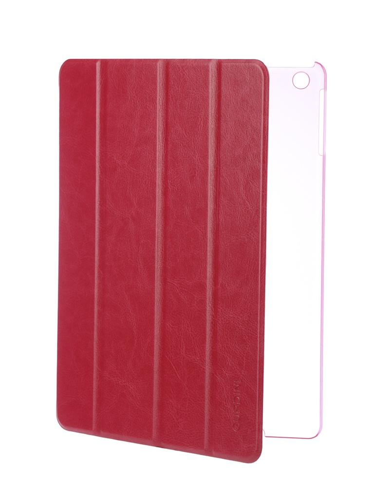 Аксессуар Чехол Gurdini для APPLE iPad Air / iPad New 2017-2018 Slim Eco кожа Crimson 520048 аксессуар чехол для apple ipad air ipad new 2017 2018 gurdini eco кожа pink 520018
