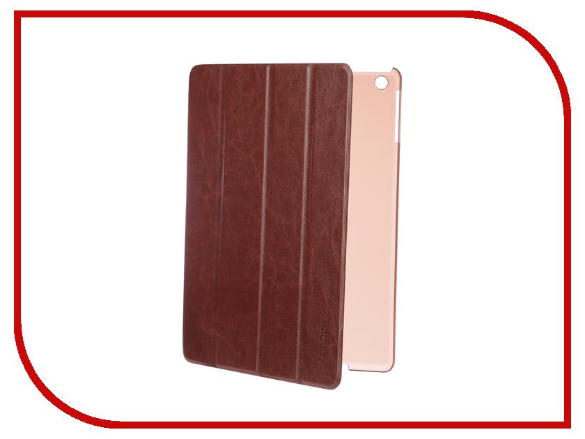 Аксессуар Чехол для APPLE iPad Air / iPad New 2017-2018 Gurdini Slim Eco кожа Brown 520047 аксессуар универсальная подставка держатель fst ipad stand 02