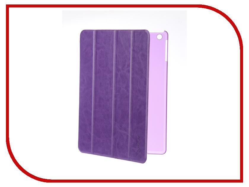 Аксессуар Чехол для APPLE iPad Air / iPad New 2017-2018 Gurdini Slim Eco кожа Purple 520045 bluetooth wireless 64 key keyboard w stand for ipad air air 2 ipad 1 2 silver