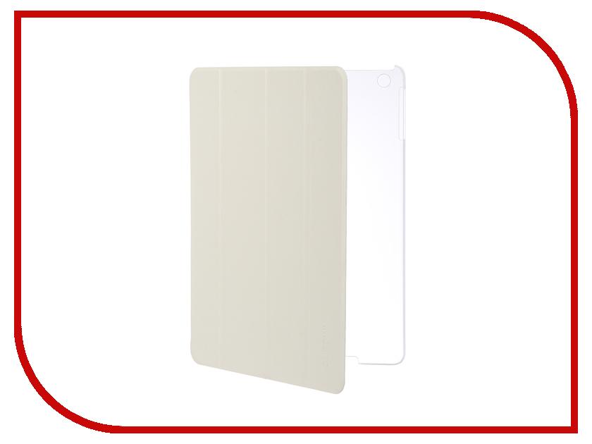 Аксессуар Чехол Gurdini Slim для APPLE iPad Air / iPad New 2017-2018 Eco кожа White 520042 цена