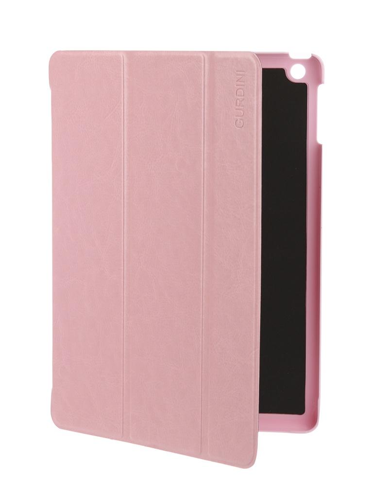Аксессуар Чехол Gurdini для APPLE iPad Air / iPad New 2017-2018 Eco кожа Pink 520018 аксессуар чехол melkco для apple ipad pro 9 7 air pink 5042