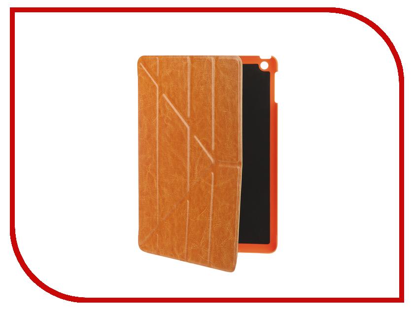 Аксессуар Чехол Gurdini для APPLE iPad Air / iPad New 2017-2018 Brown 520005 mr northjoe 3 fold protective pu leather case cover stand w auto sleep for ipad air 2 brown