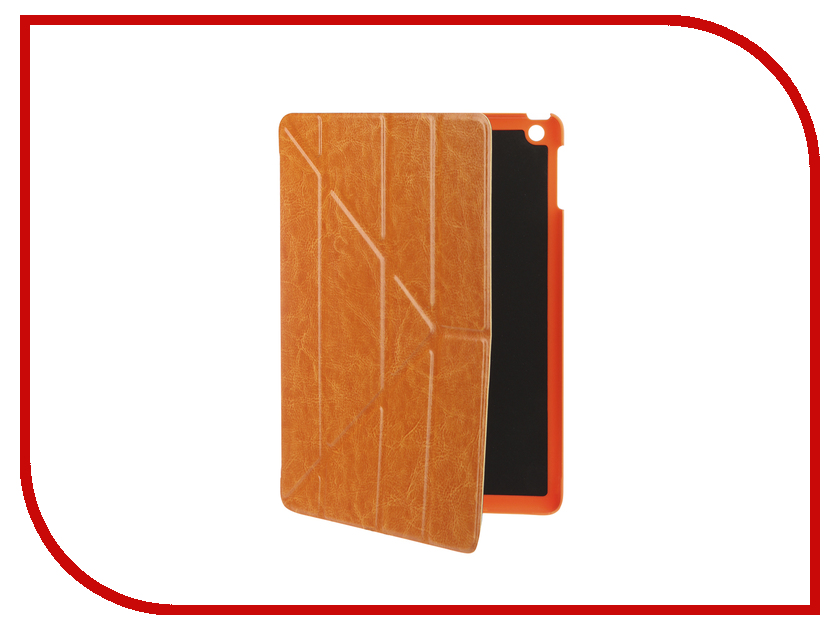 Аксессуар Чехол для APPLE iPad Air / iPad New 2017-2018 Gurdini Brown 520005 аксессуар чехол interstep leather для apple ipad air black lily 33395