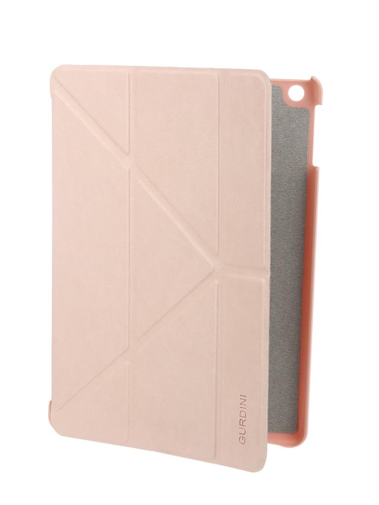 Аксессуар Чехол Gurdini для APPLE iPad Air / iPad New 2017-2018 Pink 520004 аксессуар чехол melkco для apple ipad pro 9 7 air pink 5042