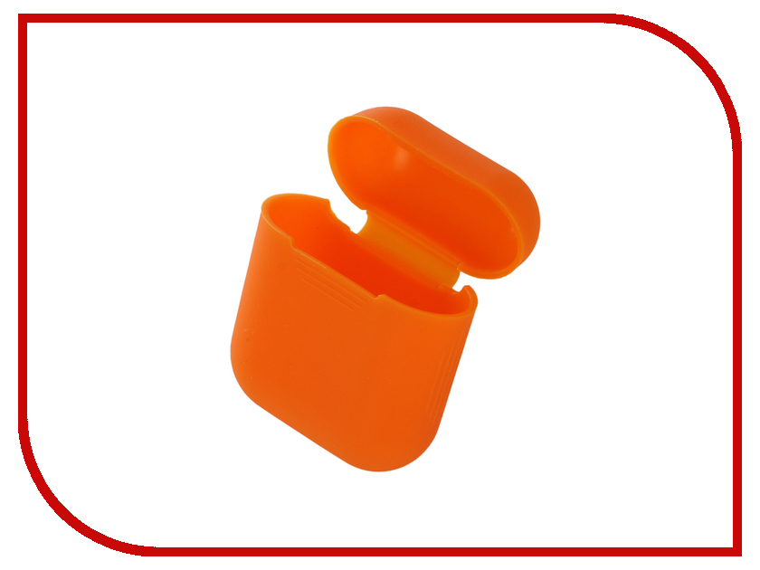 Аксессуар Чехол Gurdini Soft Touch Silicone для APPLE Airpods Orange 906670 new design hot selling lifelike reborn toddler doll soft silicone vinyl real gentle touch 28inches