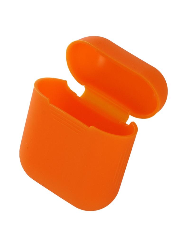 Аксессуар Чехол Gurdini Soft Touch Silicone для APPLE Airpods Orange 906670