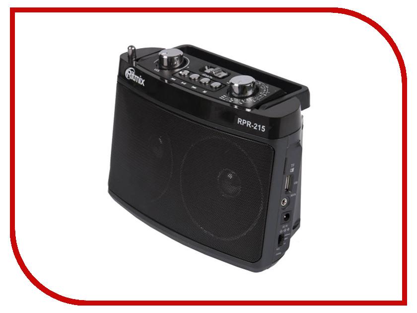 Радиоприемник Ritmix RPR-215 Gray