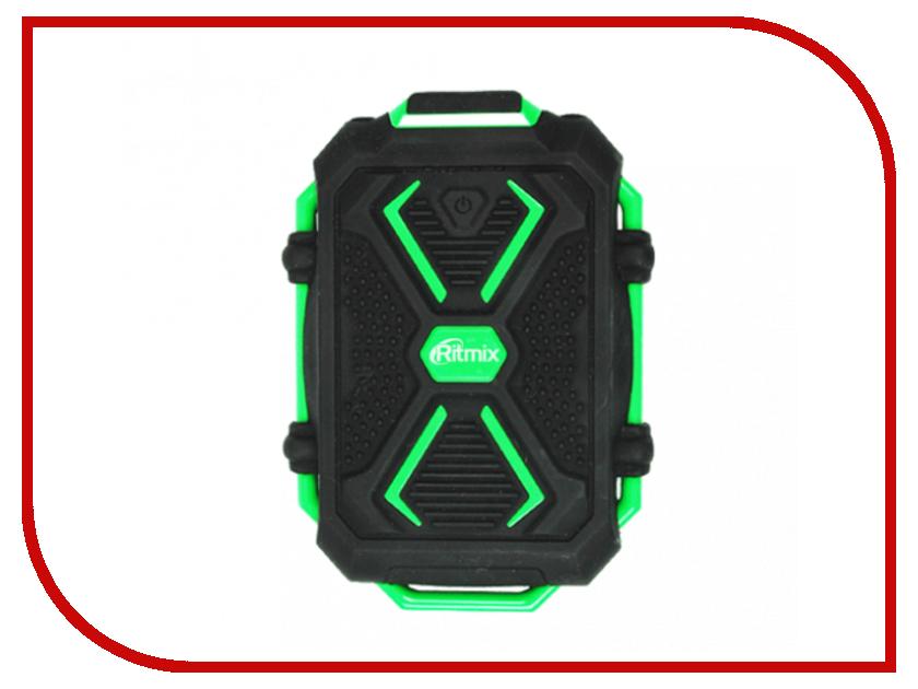 Фото - Аккумулятор Ritmix RPB-10407LT Black-Green аккумулятор