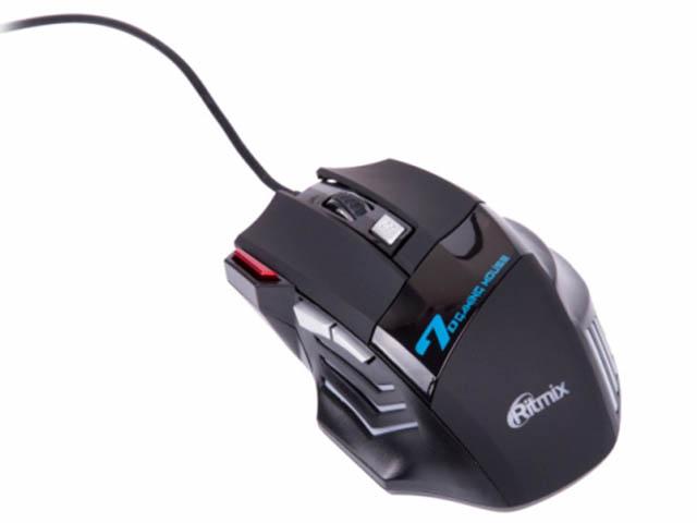 лучшая цена Мышь Ritmix ROM-345 Black