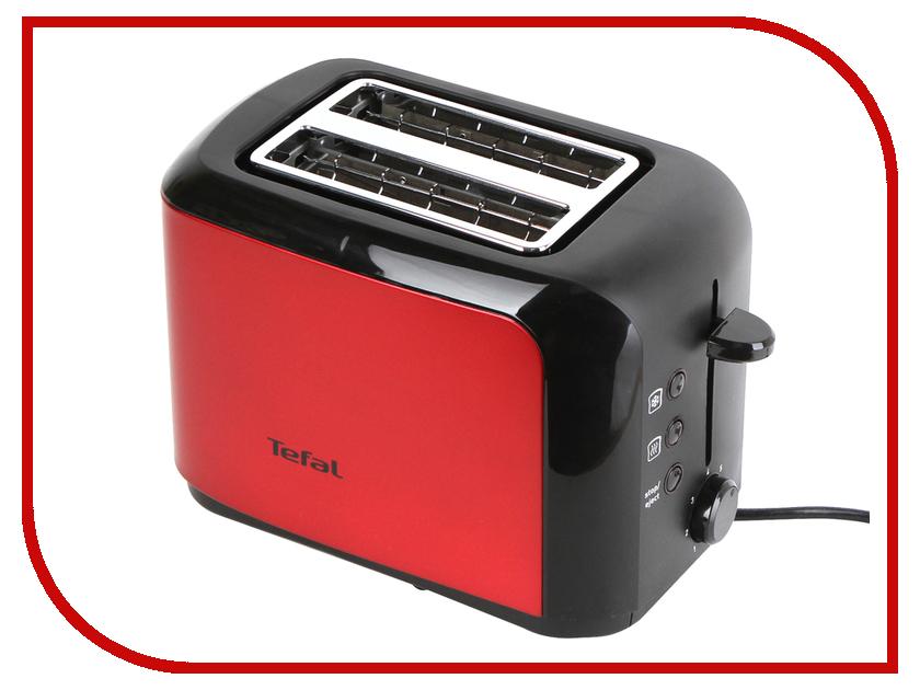 Тостер Tefal TT 356E30 Red-Black тостер tefal tt 3571 express
