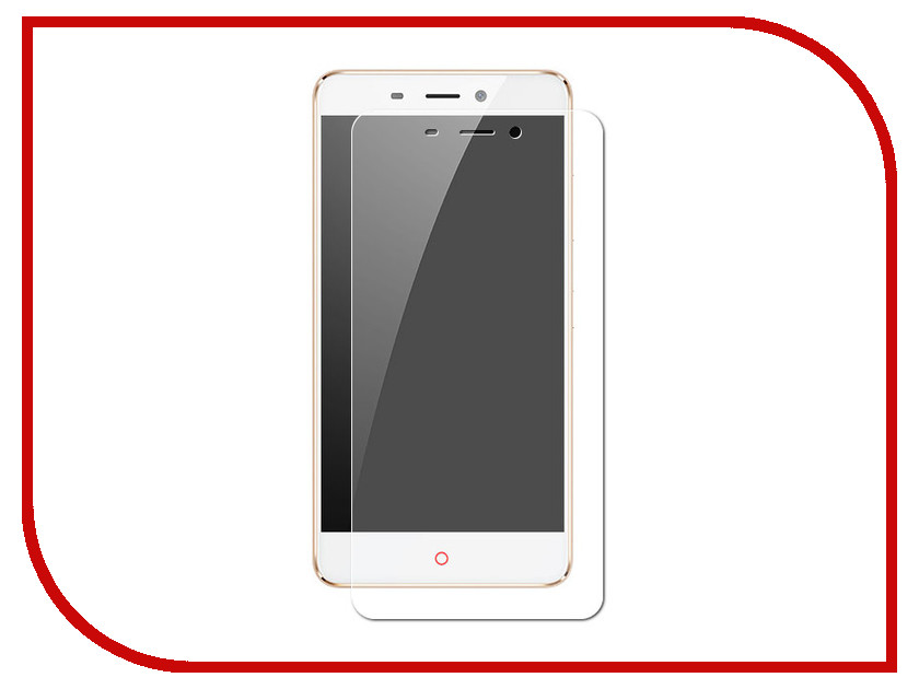 Аксессуар Защитная пленка для ZTE Nubia N1 LuxCase Full Screen Transparent 88262 lcd screen display touch screen digitizer with frame for 5 2 zte nubia z9 nx508j black free shipping