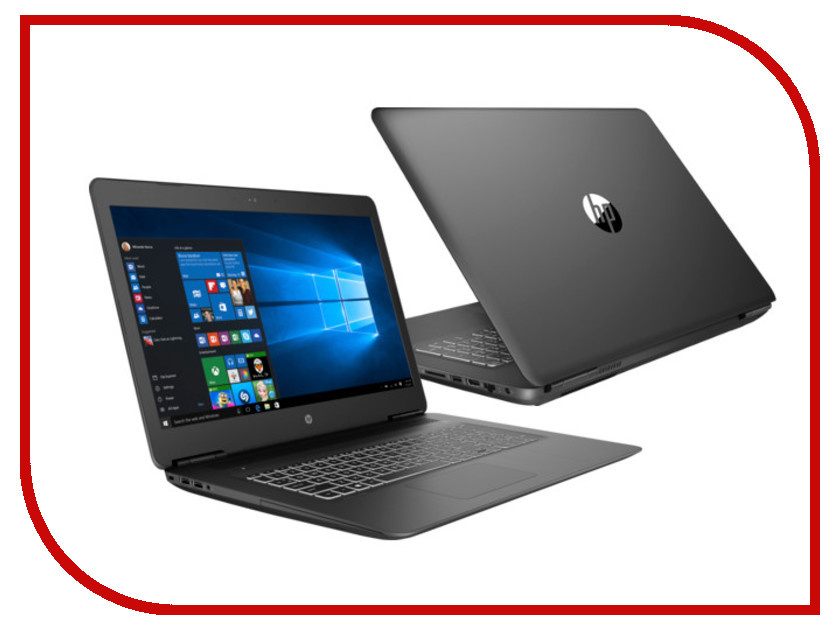 Ноутбук HP Pavilion 17-ab407ur Black 4GT40EA (Intel Core i7-8750H 2.2 GHz/16384Mb/1000Gb+256Gb SSD/DVD-RW/nVidia GeForce GTX 1050Ti 4096Mb/Wi-Fi/Bluetooth/Cam/17.3/1920x1080/Windows 10 Home 64-bit) ноутбук hp zbook 15u g4 y6k01ea intel core i7 7500u 2 7 ghz 16384mb 256gb ssd amd firepro w4190m 2048mb wi fi bluetooth cam 15 6 1920x1080 windows 10 pro 64 bit