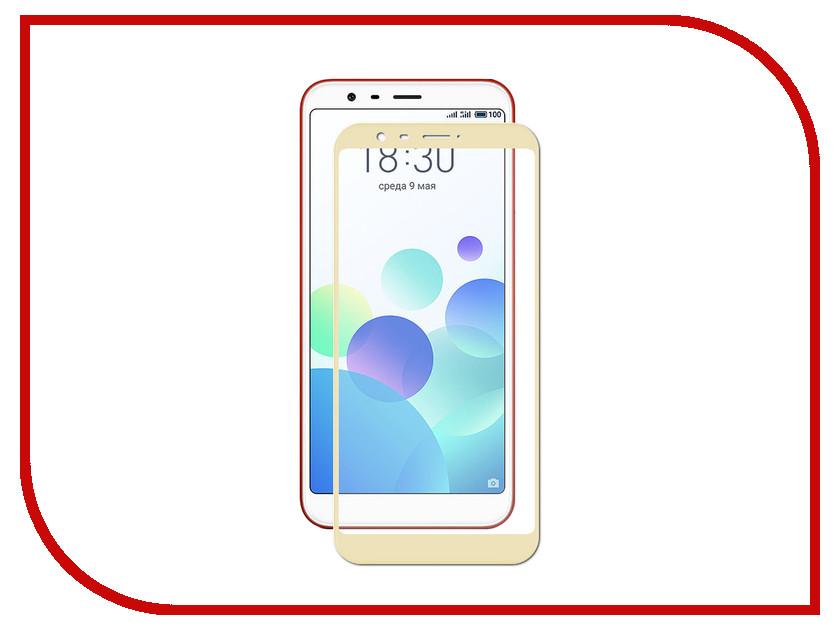 Аксессуар Защитное стекло для Meizu M8c LuxCase 3D Gold Frame 77976 ak 803 613