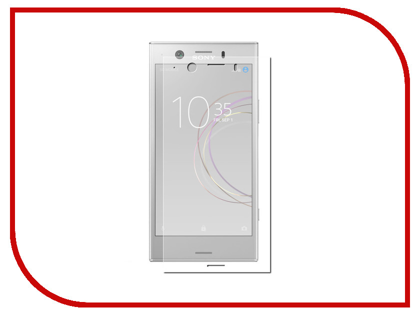 Аксессуар Защитная пленка для Sony Xperia XZ1 Compact LuxCase Full Screen Transparent 88364 for sony xperia xz1 compact full side 2 5d high definition explosion proof toughened glass film