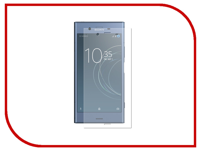 Аксессуар Защитная пленка для Sony Xperia XZ1 LuxCase Full Screen Transparent 88363 full new for sony xperia x lcd display screen touch glass digitizer assembly replacement parts free tools