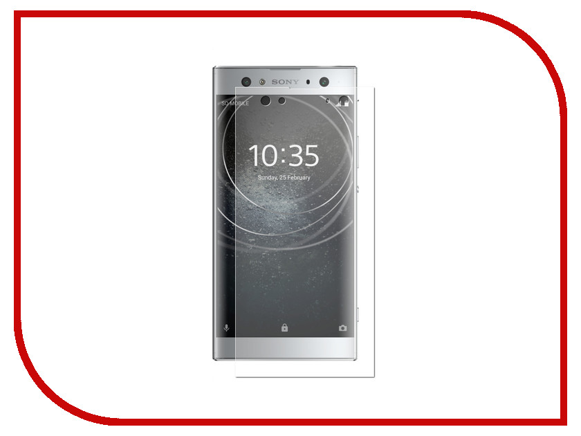 Аксессуар Защитная пленка для Sony Xperia XA2 ULTRA LuxCase Full Screen Transparent 88366 industrial display lcd screenlp116wh2 tlc1 new original package 11 6 inch led ultra thin screen a perfect screen