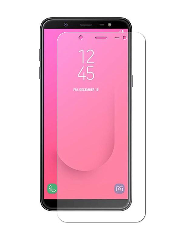 Аксессуар Защитная пленка LuxCase Full Screen для Samsung Galaxy J8 2018 Transparent 88184 аксессуар защитная пленка для samsung galaxy a8 2018 luxcase full screen transparent 88172