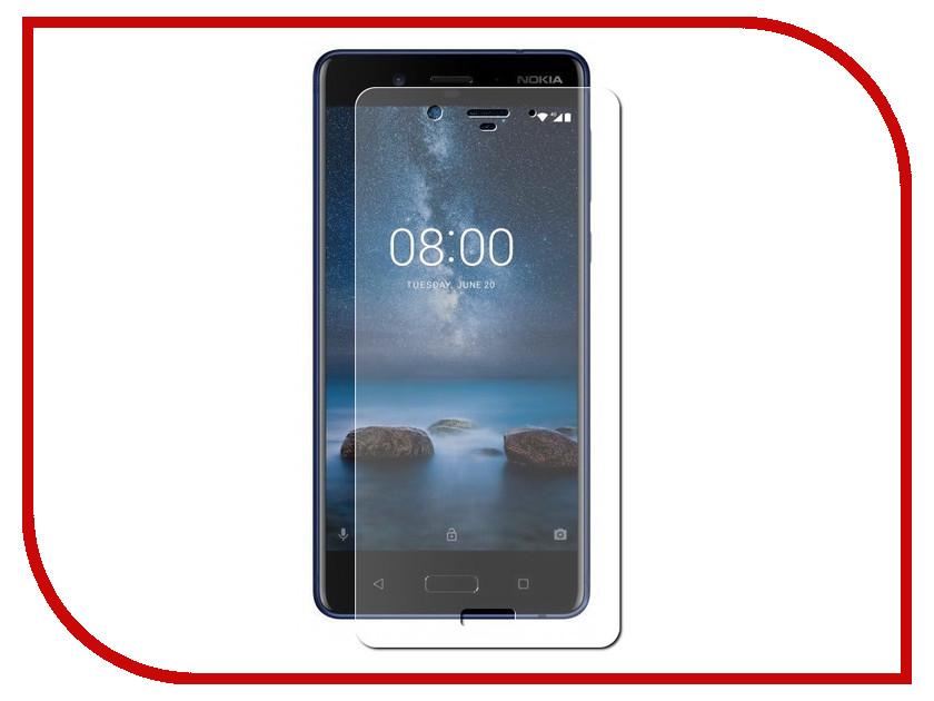 Аксессуар Защитная пленка для Nokia 8 LuxCase Full Screen Transparent 88634 аксессуар защитная пленка для nokia 3 1 2018 luxcase full screen transparent 88639