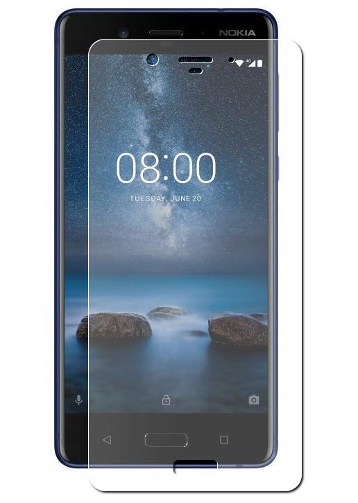 Аксессуар Защитная пленка LuxCase для Nokia 8 Full Screen Transparent 88634