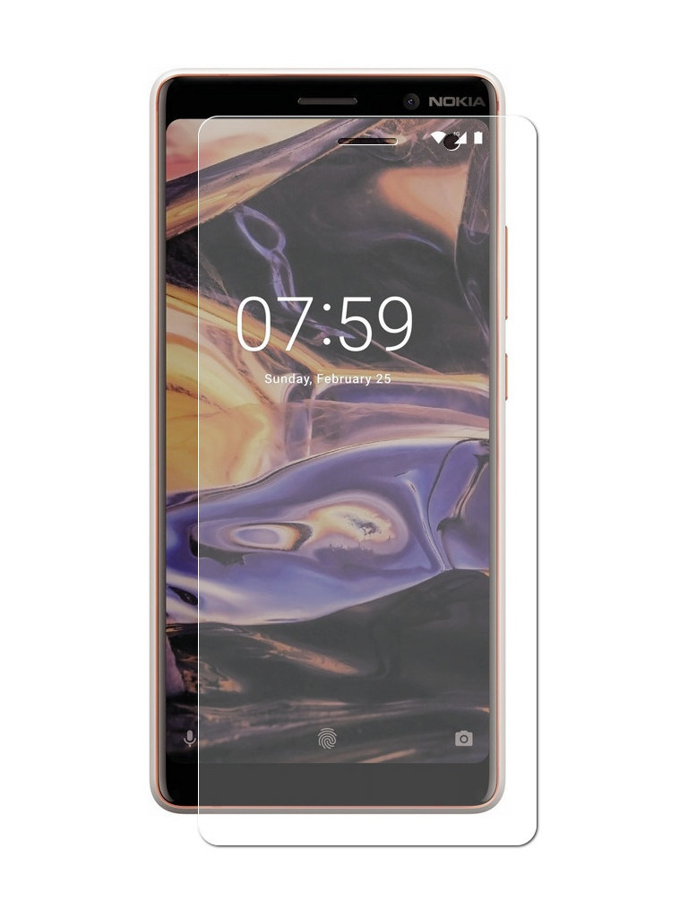 Аксессуар Защитная пленка LuxCase для Nokia 7 Plus Full Screen Transparent 88636 аксессуар защитная пленка для htc desire 12 luxcase full screen transparent 88853