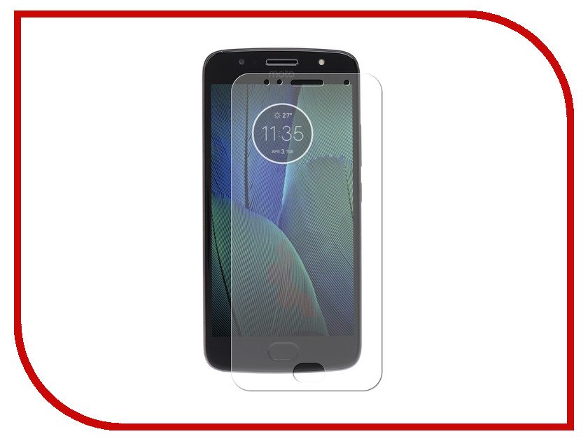 Аксессуар Защитная пленка для Motorola Moto G5S LuxCase Full Screen Transparent 88913 high quality new lcd display touch screen digitizer for motorola moto g2 2nd xt1063 1064 assembly free shipping