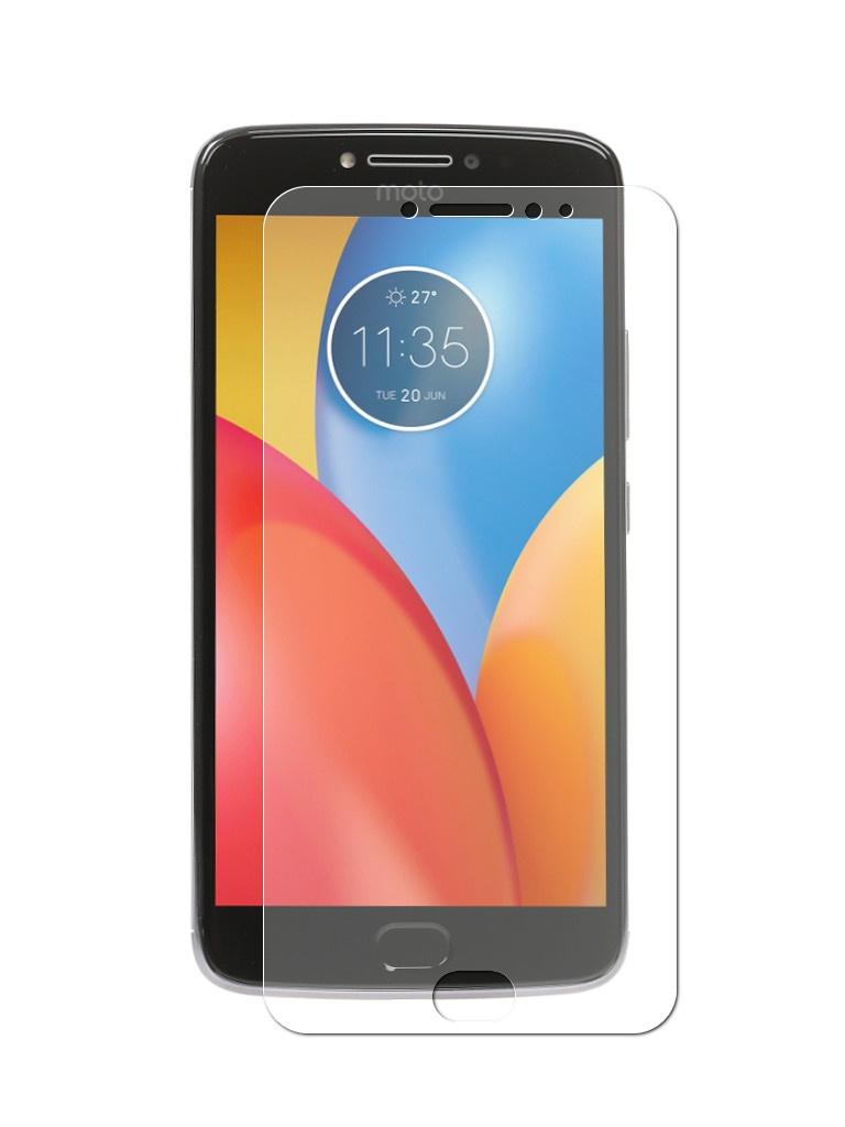 Аксессуар Защитная пленка LuxCase для Motorola Moto E Gen.4 Plus Full Screen Transparent 88906