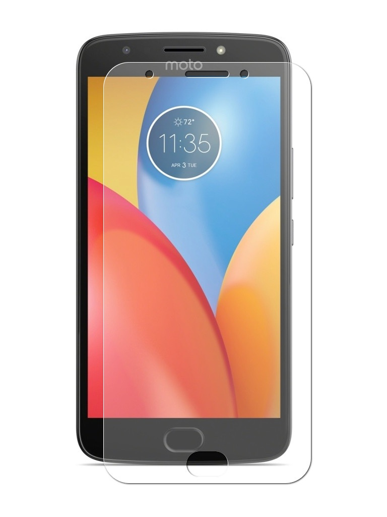 Аксессуар Защитная пленка LuxCase для Motorola Moto E Gen.4 Full Screen Transparent 88907