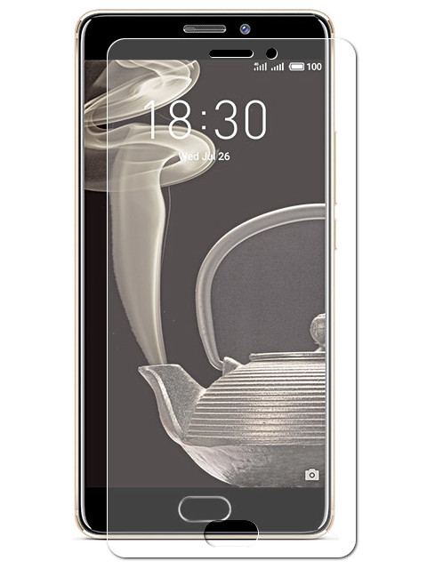 Аксессуар Защитная пленка для Meizu Pro 7 Plus LuxCase Full Screen Transparent 88333 защитная плёнка для meizu pro 7 на весь экран tpu прозрачная luxcase