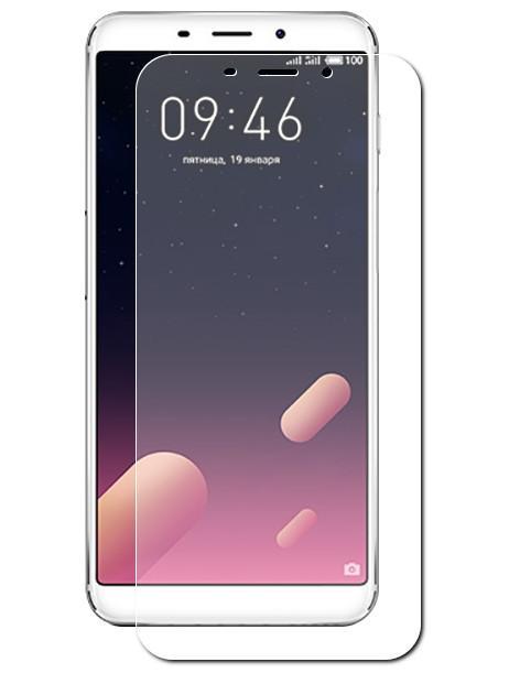 Аксессуар Защитная пленка для Meizu M6S LuxCase Full Screen Transparent 88334
