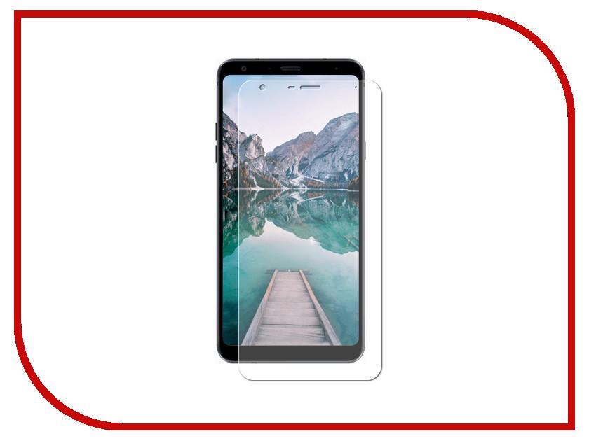 Аксессуар Защитная пленка для LG Q Stylus LuxCase Full Screen Transparent 88064 цена