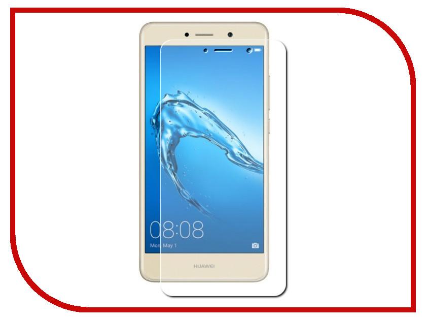 Аксессуар Защитная пленка для Huawei Y7 2017 LuxCase Full Screen Transparent 88662 аксессуар защитное стекло svekla 3d для apple iphone xr black frame zs svapxr 3dbl