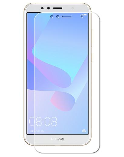 Аксессуар Защитная пленка LuxCase для Huawei Y6 Prime 2018 Full Screen Transparent 89048 аксессуар защитная пленка для htc desire 12 luxcase full screen transparent 88853