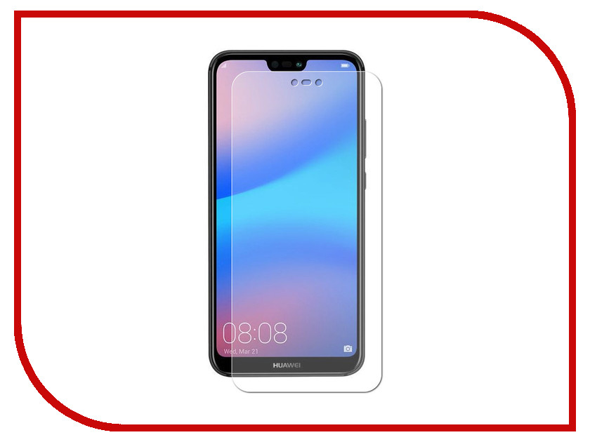 Аксессуар Защитная пленка для Huawei P20 Lite LuxCase Full Screen Transparent 89012 аксессуар защитная пленка для huawei honor 10 luxcase full screen transparent 89024