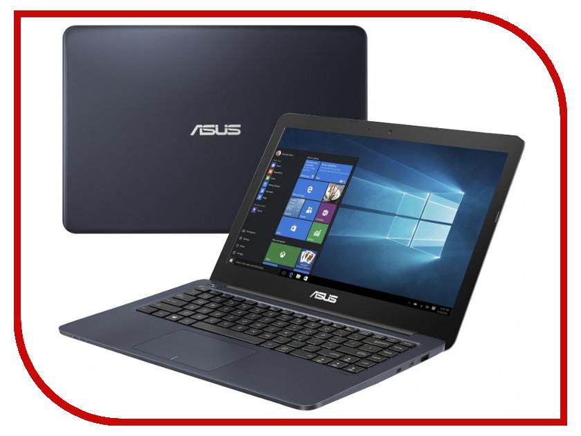цена на Ноутбук ASUS VivoBook F402WA-GA019T 90NB0HC3-M02680 Dark Blue (AMD E2-6110 1.5 GHz/4096Mb/64Gb/No ODD/AMD Radeon R2/Wi-Fi/Bluetooth/Cam/14.0/1366x768/Windows 10 64-bit)