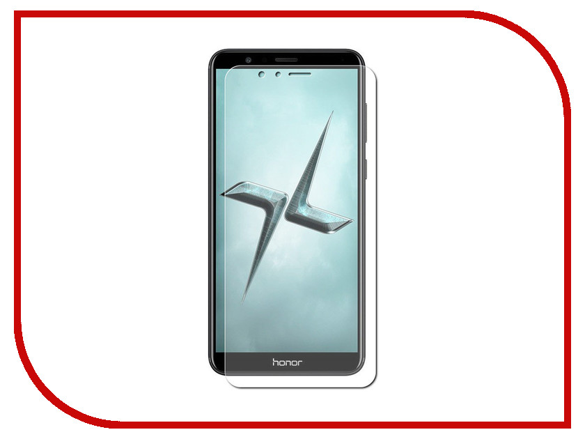Аксессуар Защитная пленка для Huawei Honor 7X LuxCase Full Screen Transparent 88955 чехол samsung ef zg955cbegru для samsung galaxy s8 clear view standing cover черный