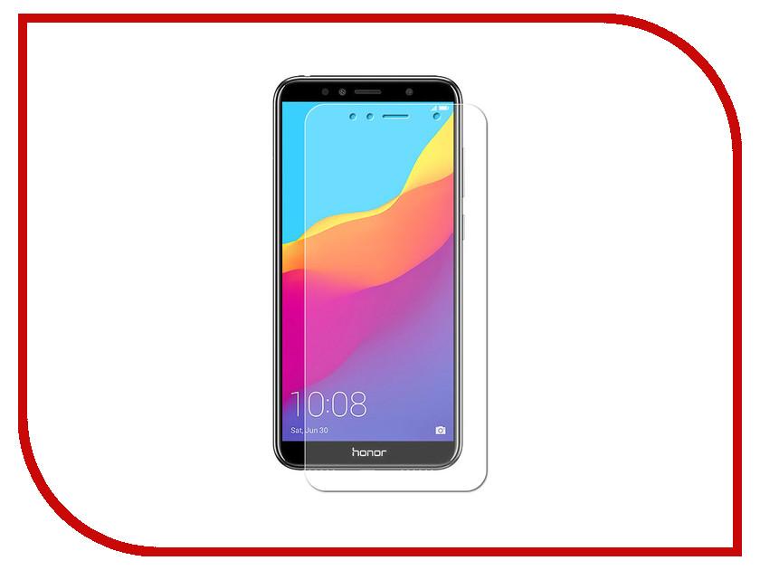 Аксессуар Защитная пленка для Huawei Honor 7A LuxCase Full Screen Transparent 89025 аксессуар защитное стекло для huawei honor y9 2018 luxcase 3d full screen black frame 77921